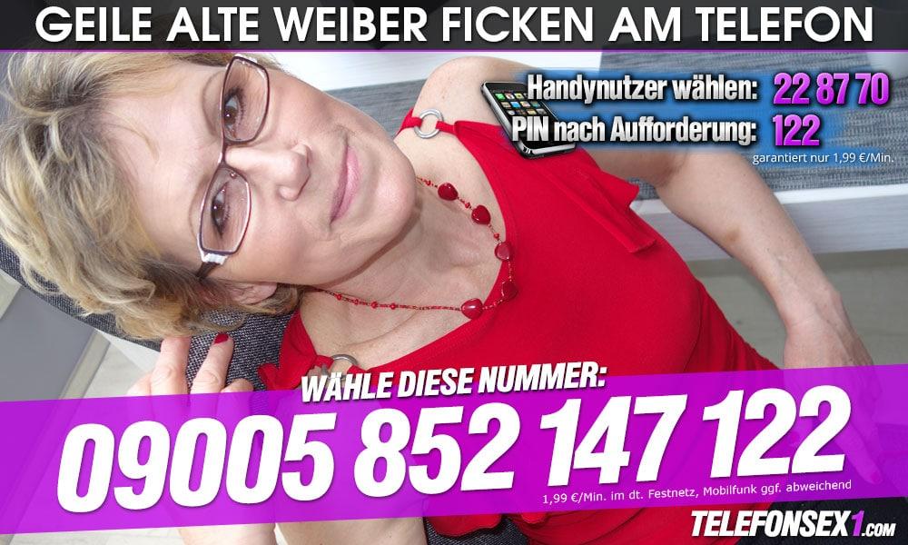 Alte Weiber ficken live am Telefon