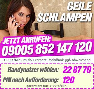Geile Schlampen Telefonsex Nummer